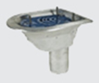 Harmer detail roof outlets alumasc roofing systems for Balcony outlet