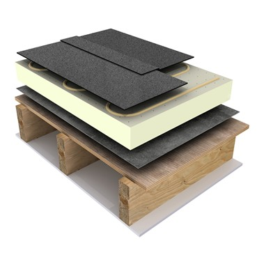 Euroroof Mono Flat Roof Membrane | Alumasc Roofing Systems