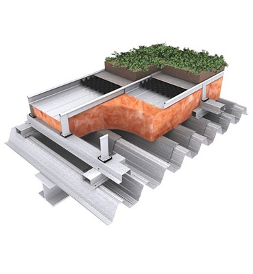 Armaseam Green Roof Alumasc Roofing Systems