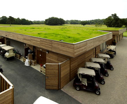 Rockliffe Hall Alumasc Roofing Systems