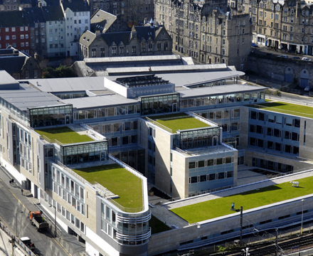 Edinburgh Council Hq Alumasc Roofing Systems