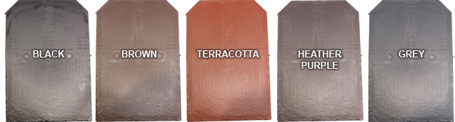 lightweight metal roof tiles for flat and pitched roofs