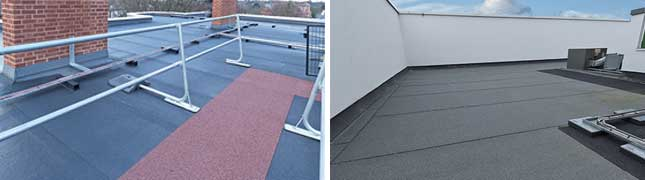 flat roof bituminous membrane systems